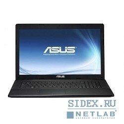 "ноутбук asus x75a intel 2020m, 4, 500, dvd-super multi, 17.3"" hd+, shared, wi-fi, windows 8 [90ndoa-218w1c21-5813au]"