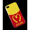 Чехол-накладка для Apple iPhone 4, 4S (Moschino R0004209) (картошка фри) - Чехол для телефонаЧехлы для мобильных телефонов<br>Плотно облегает корпус и гарантирует надежную защиту от царапин и потертостей.<br>