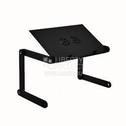 Универсальный стол-подставка ASX X7 для ноутбука + вентилятор охлаждения (черный) + Mouse Pad