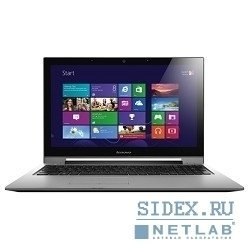 "ноутбук lenovo ideapad (s500t) [59385696 ] core i3 3217u(1.8ghz), 4g, 500gb, 15.6"", touch, nodvd, ext:geforce gt720m 2gb, cam, bt, wifi, w8"