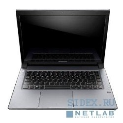 "ноутбук lenovo ideapad (m490s) (59421244) i3-3217u (1.8), 4g, 500g, 14.0""hd, int:intel hd 4000, bt, fpr, win8 grey"
