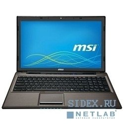 "ноутбук msi cr61 2m-698ru (9s7-16gd11-698) 15.6""; hd (1366x768); i3-4000m; 4gb; hdd 500gb; 5400rppm; dvd-super-multi; integrated; wifi b, g, n; bt4.0; webcam; 6cell; win8 sl"
