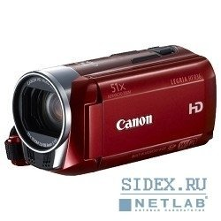 "видеокамера legria hf r36 red (3.28mpx,  32x opt zoom,  3"",  sd,  sdhc,  sdxc)"