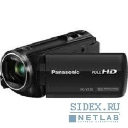 видеокамера panasonic hc-v230ee-k,  mos,  50x,  2.51mp черный