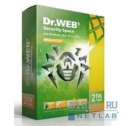 Dr.Web Security Space 2 �� �� 2 ���� (BHW-B-24M-2A3)