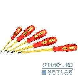 Набор отверток диэлектрических STAYER (MAX-GRIP Isolated 25830-H5 G) (5 предметов)