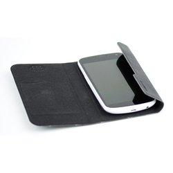 """Универсальный чехол-флип для смартфонов 4-5"""" (Armor-X book) (черный)"""