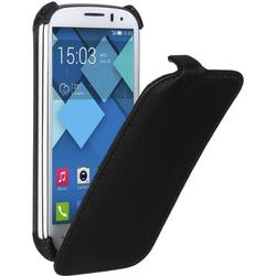 чехол-флип для alcatel one touch pop c5 5036 (ibox premium yt000005079) (черный)