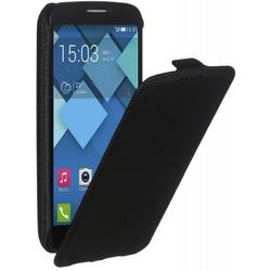 чехол-флип для alcatel one touch pop c7 (ibox premium yt000005190) (черный)