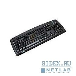 клавиатура keyboard a4tech kbs-720 a-shape,  usb (чёрная) slim (провод. кл-ра,  металл. дно)