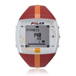 Пульсометр Polar FT7F с GPS-датчиком (красный/оранжевый)