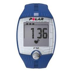 Пульсометр для фитнеса Polar FT2 с GPS-датчиком (синий)