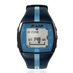 Пульсометр Polar FT4M c GPS-датчиком (синий) ()