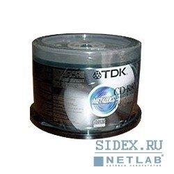 Диск CD-R TDK 700 Mb 48х-52x Cake Box (50 шт) (75000028268)