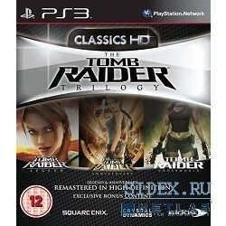 игры tomb raider trilogy - classics hd