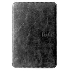 Чехол-книжка с подсветкой для Amazon Kindle 4, 5 (AK-RWL01BL) (черный)