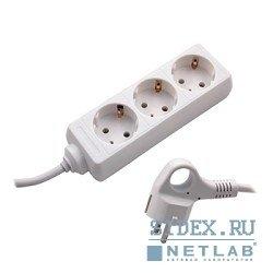 Сетевой удлинитель СТАРТ S 3x1-Z (3 розетки) 1.5м (белый)