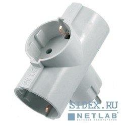 Сетевой адаптер - тройник (Старт SA1/3-Z) (белый)
