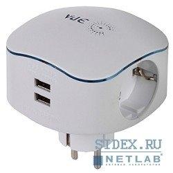 ������� ��� 3 �������+ 2USB (SP-3e-USB) (�����)