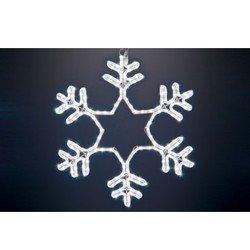 Новогоднее светоукрашение 55 х 55 см (NEON-NIGHT Снежинка 501-334) (белый)