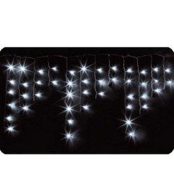 Новогодняя гирлянда 1.8 х 0.5 м (NEON-NIGHT Айсикл 255-015) (белый)