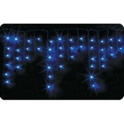 Новогодняя гирлянда 2.4 х 0.6 м (NEON-NIGHT Айсикл 255-035) (синий)