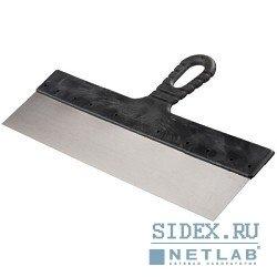 """Шпатель STAYER """"MASTER"""" фасадный стальной,  с пластмассовой ручкой,  250мм[1006-25]"""