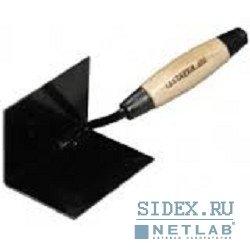 Кельма STAYER с деревянной усиленной ручкой для внутренних углов[0821-7]