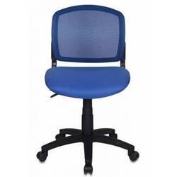 Кресло Бюрократ (CH-296/BL/15-10) (спинка сетка, синий)
