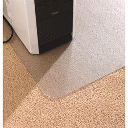 Коврик напольный Floortex AB1213420EV прямоугольный для паркета, ламината ПВХ 115 х 134см толщина 2.3 мм, антимикробный, картон. упак.