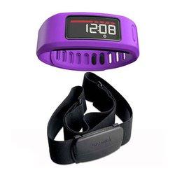 Браслет Garmin Vivofit HRM (фиолетовый)
