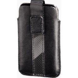 Кожаный чехол-футляр для Apple iPod touch 4G (Hama H-13285 Delicate Sleeve) (черный)
