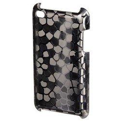 Пластиковый чехол-накладка для Apple iPod touch 4G (Hama H-13313 Metal) (серебристый)