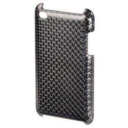 Пластиковый чехол-накладка для Apple iPod touch 4G (Hama H-13314 Carbon) (серый)