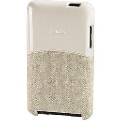 Чехол для Apple iPod touch 2G, 3G (Hama Fiberlight H-86176) (белый/бежевый)