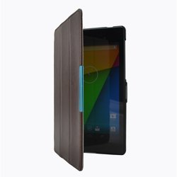 чехол-книжка для asus nexus 7 2013 (smart case gn2-01br) (коричневый)
