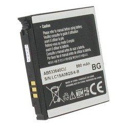 Аккумулятор для Samsung G600 (AB53364OCU)