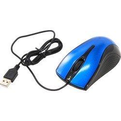 Мышь Oklick 215M USB (черный/синий)