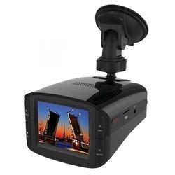 Автомобильный видеорегистратор + радар детектор КАРКАМ КОМБО (черный)