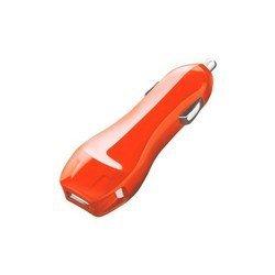 Автомобильное зарядное устройство USB (Deppa Classic 22129) (оранжевый)