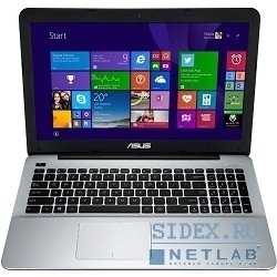 "asus x555ld i3-4030u (1.9), 6g, 500g, 15.6""hd ag, nv 820m 2g, dvd-sm, bt, win8 [90nb0622-m00130]"