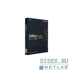 Microsoft Office 2011 Mac Home and Business Rus Box (W6F-00232)