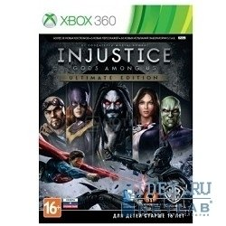игра для xbox360 injustice: gods among us ultimate edition (русские субтитры)