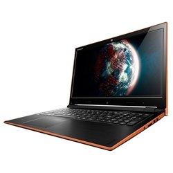 """Lenovo IdeaPad Flex 15 (Core i3 4010U 1700 Mhz/15.6""""/1366x768/4.0Gb/508Gb HDD+SSD Cache/без привода/Wi-Fi/Bluetooth/DOS) (черный/оранжевый)"""