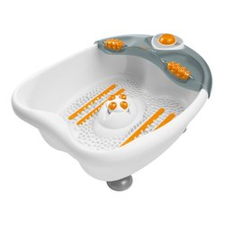 Гидромассажная ванночка для ног (Medisana WBW) (белый-оранжевый)