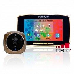 Дверной видеоглазок bb-mobile ПРОГлазОК с GSM (золотистый)