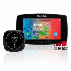Дверной видеоглазок bb-mobile ПРОГлазОК с GSM (черный)