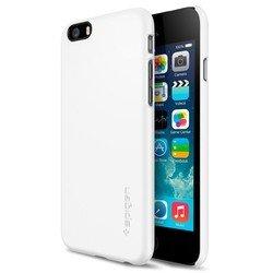 "Чехол накладка для Apple iPhone 6, 6s 4.7"" (Spigen Thin Fit Series SGP10937) (белый)"