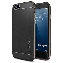 """Чехол-накладка для Apple iPhone 6, 6s 4.7"""" (Spigen Neo Hybrid Series SGP11031) (стальной)"""