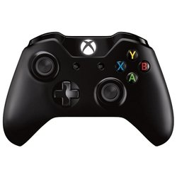 microsoft xbox one wireless controller with pnc kit (w2v-00011) (черный)